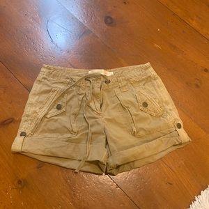 J.Crew Weathered Chino Classic Twill Shorts sz 2